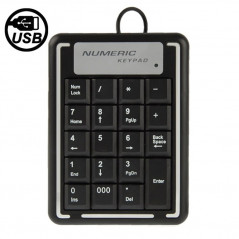 Keyboard, external numeric with Usb cable NO-NAME - 1