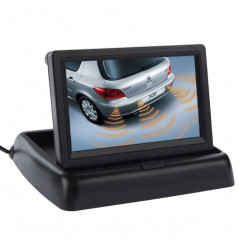 Display 4.3 p LCD Video Car Camera Drop-TV-DVD-MP4 NO-NAME - 1