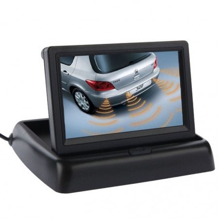 Display da 4,3 p e Video LCD della macchina fotografica dell'Automobile Drop-TV-DVD-MP4