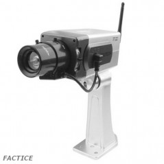 Caméra factice sans-fil de surveillance IR LED NO-NAME - 1