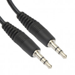 Cable audio 5 mètres (Jack 3.5 mm) NO-NAME - 1