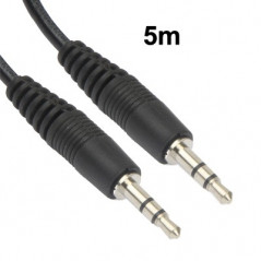 Cable audio 5 mètres (Jack 3.5 mm) NO-NAME - 2