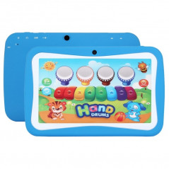 Tablette enfant, M755, tactile, Bleue, 8 Go, Android 5.1, Wifi
