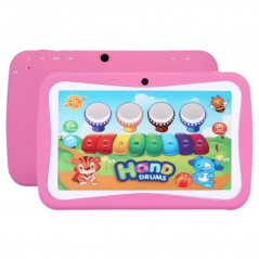Tablette enfant rose, écran 7p. tactile, 4 Go, Android 4.2.2 NO-NAME - 1