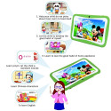 Tablette enfant verte, écran 7p. tactile, 8 Go, Android 5.1, Double caméras NO-NAME - 8