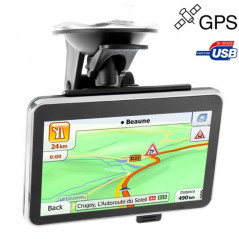 GPS screen 4.3 inch touchscreen (MP3 + Video)