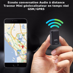 Listening to Remote Conversation - GSM / GPRS Real Time Geolocator Mini Locator (GF07) GF-07 - 1