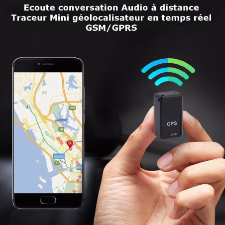 Listening to Remote Conversation - GSM / GPRS Real Time Geolocator Mini Locator (GF07)