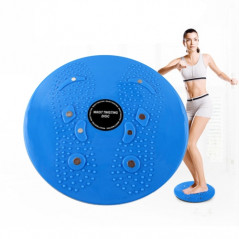 Aérobic fitness disque de torsion, taille: 25 * 3cm (Bleu) Fitness Equipment - 1