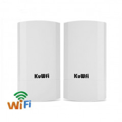 KuWfi Wireless Router 2KM 300 Mbps Indoor Outdoor CPE Bridge Repeater WDS Wireless Network Adapter - 1